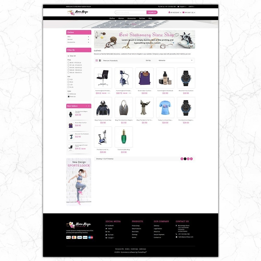theme - Fashion & Shoes - Moremega_store - 3