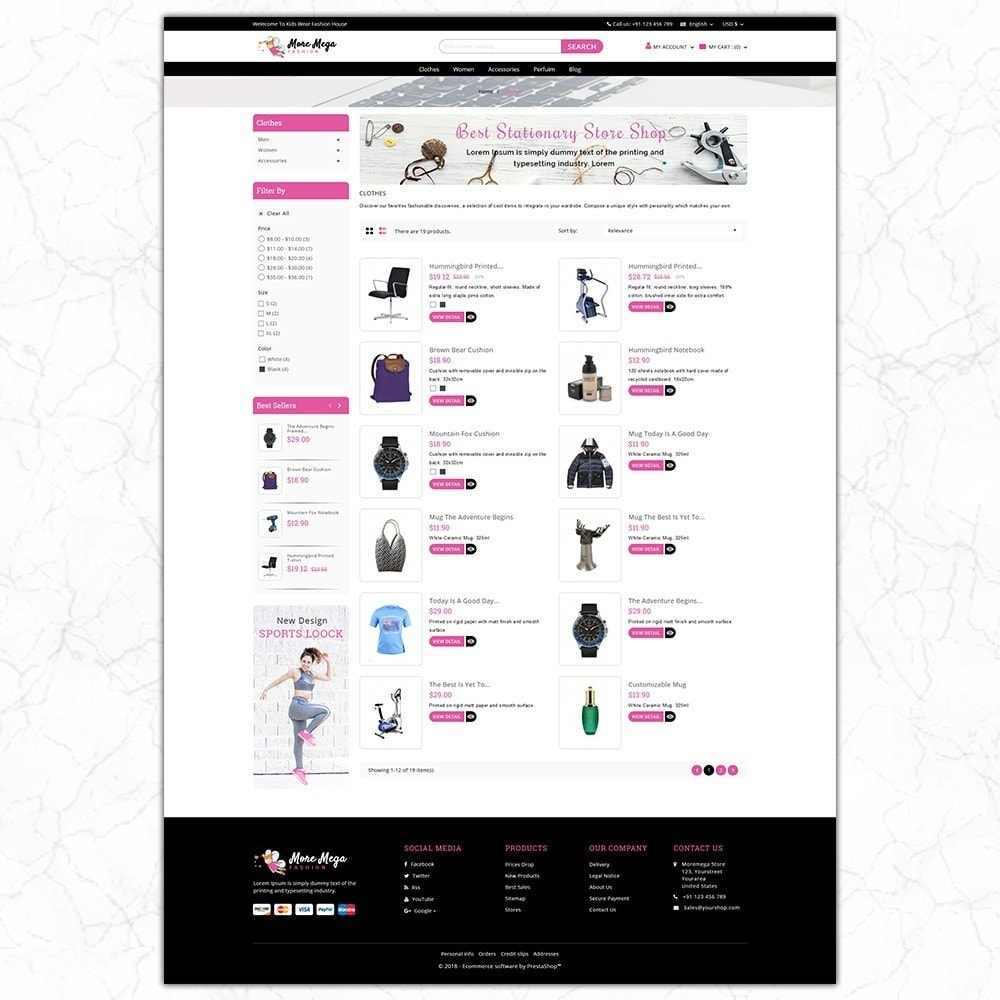 theme - Fashion & Shoes - Moremega_store - 4