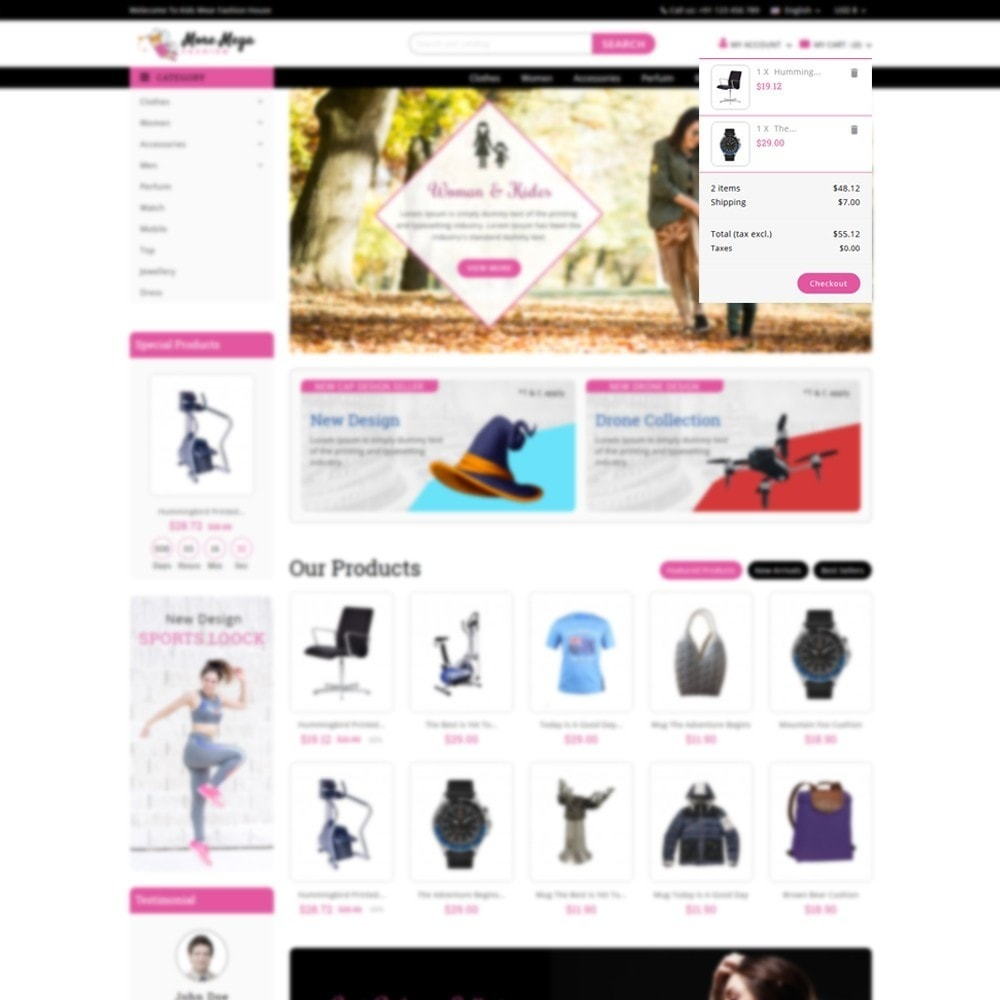theme - Fashion & Shoes - Moremega_store - 8