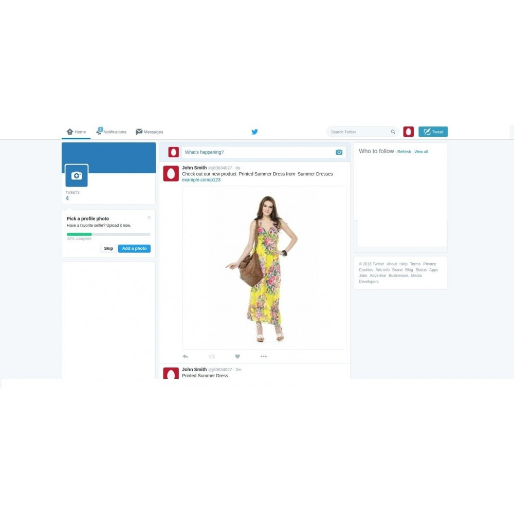 module - Модули PrestaShop - All-In-One Auto-Post Products to Social Networks - 4