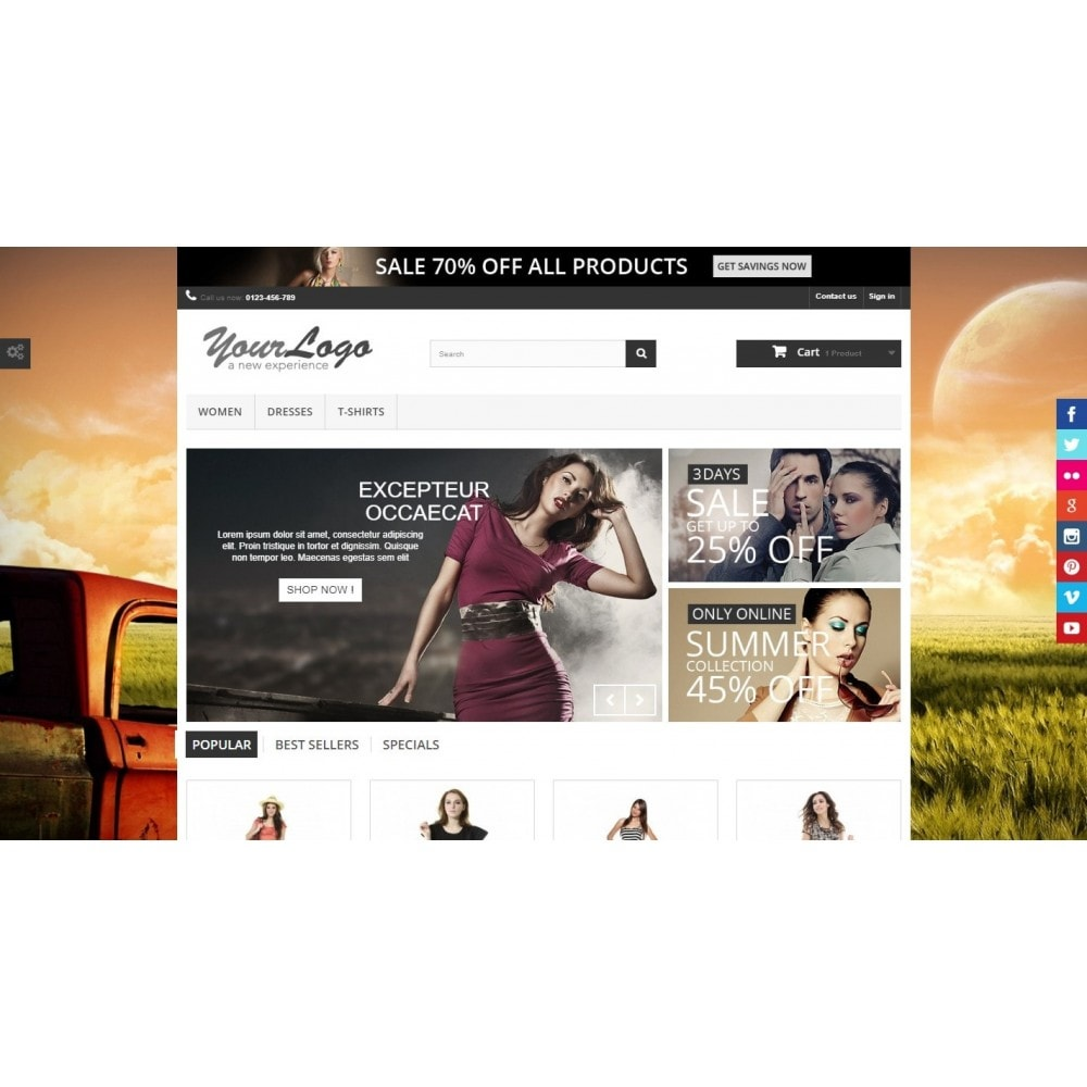module - Personnalisation de Page - Background Changer - Ultimate - 5