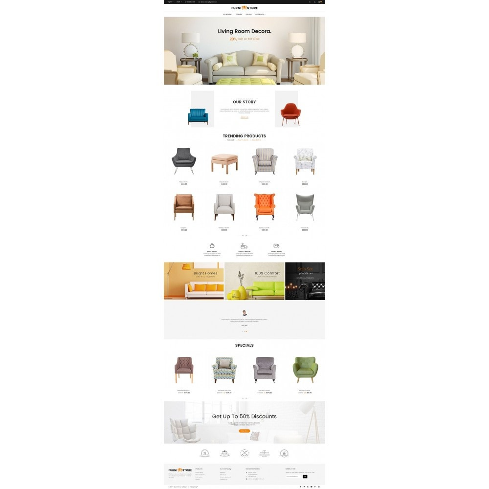 theme - Casa & Giardino - Furniture Store - 3