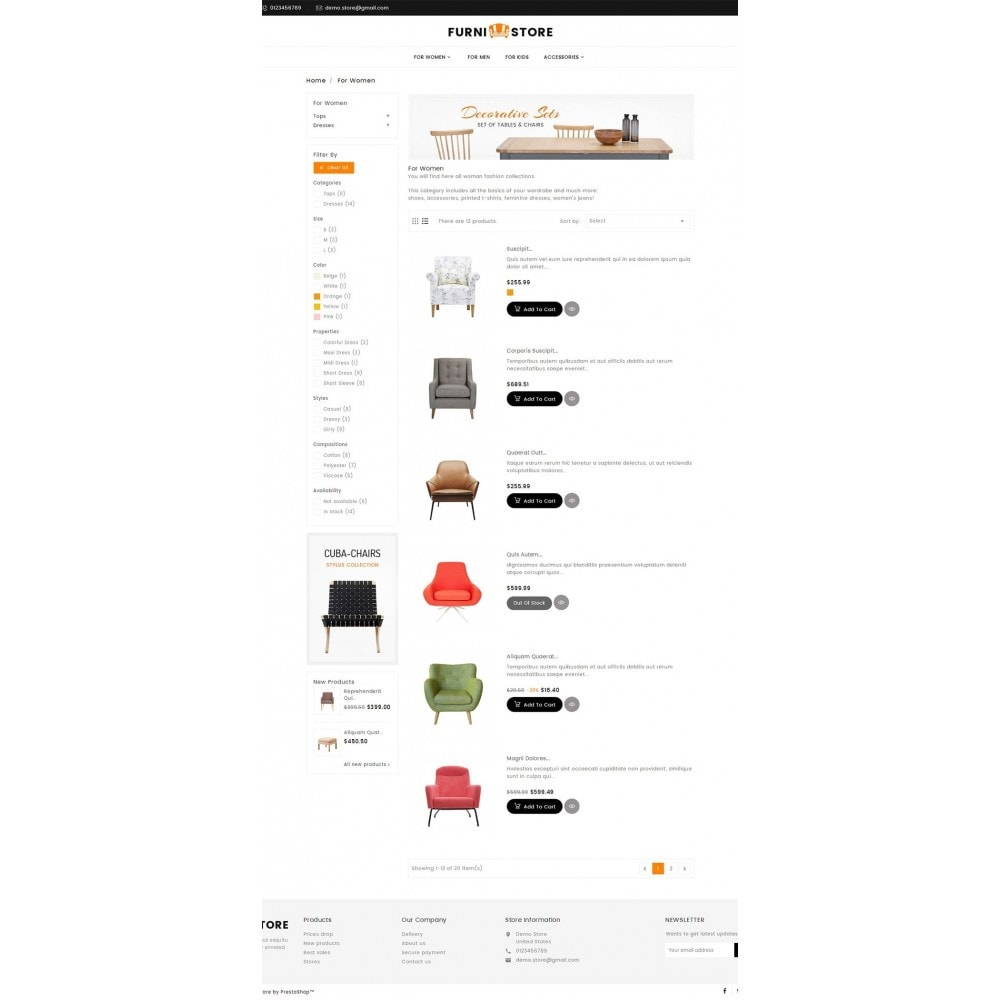 theme - Casa & Giardino - Furniture Store - 5