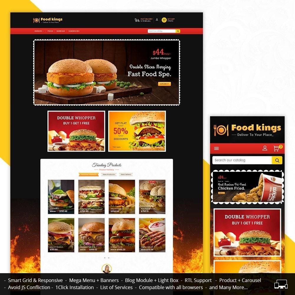theme - Alimentation & Restauration - Food Kings - 2