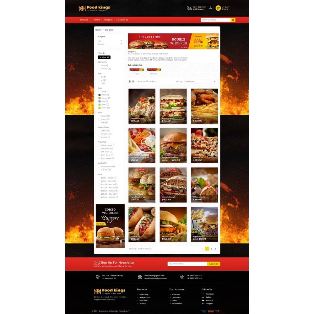 theme - Alimentation & Restauration - Food Kings - 4