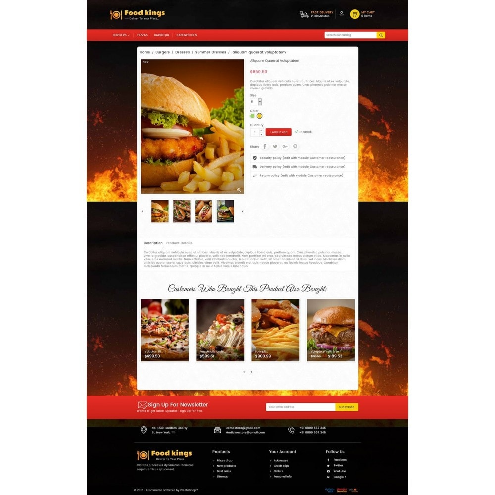 theme - Alimentation & Restauration - Food Kings - 6