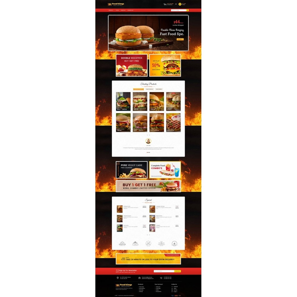 theme - Gastronomía y Restauración - Food Kings - 3
