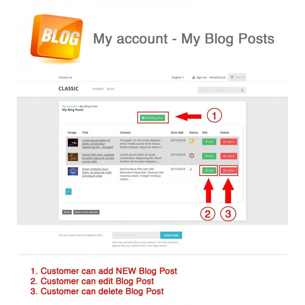 bundle - Inloggen - Pack: Blog PRO, Social Connects, Product Reviews - 7