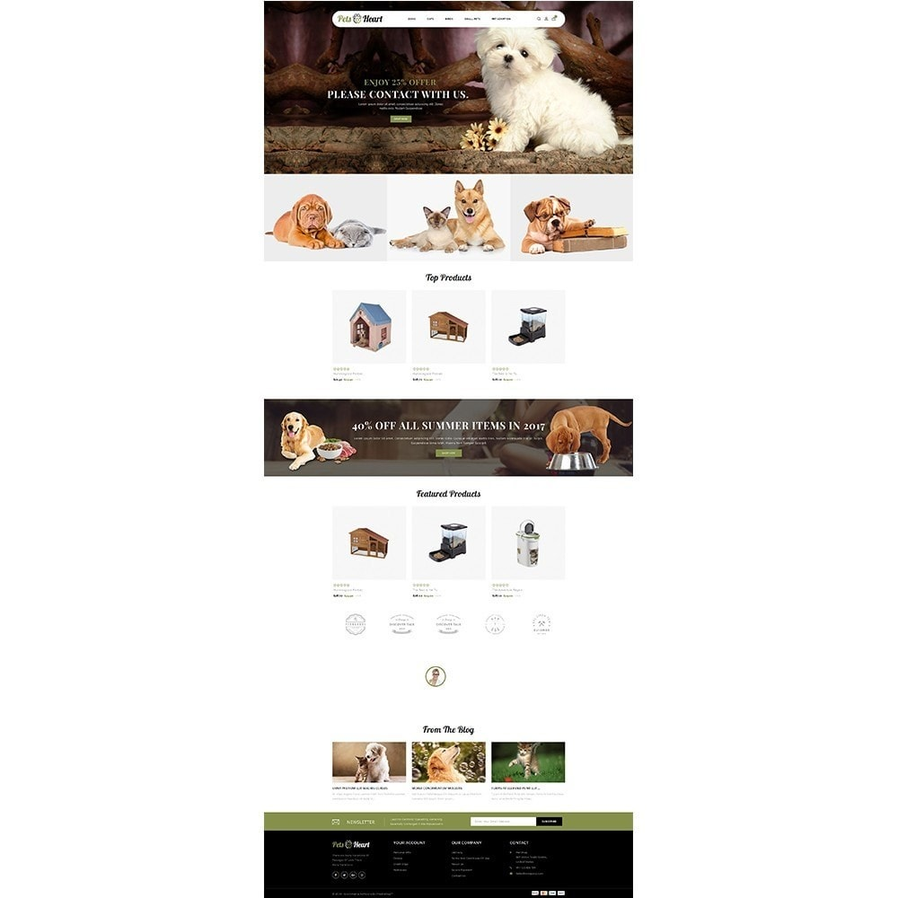 theme - Animaux - Pets Heart Store - 2