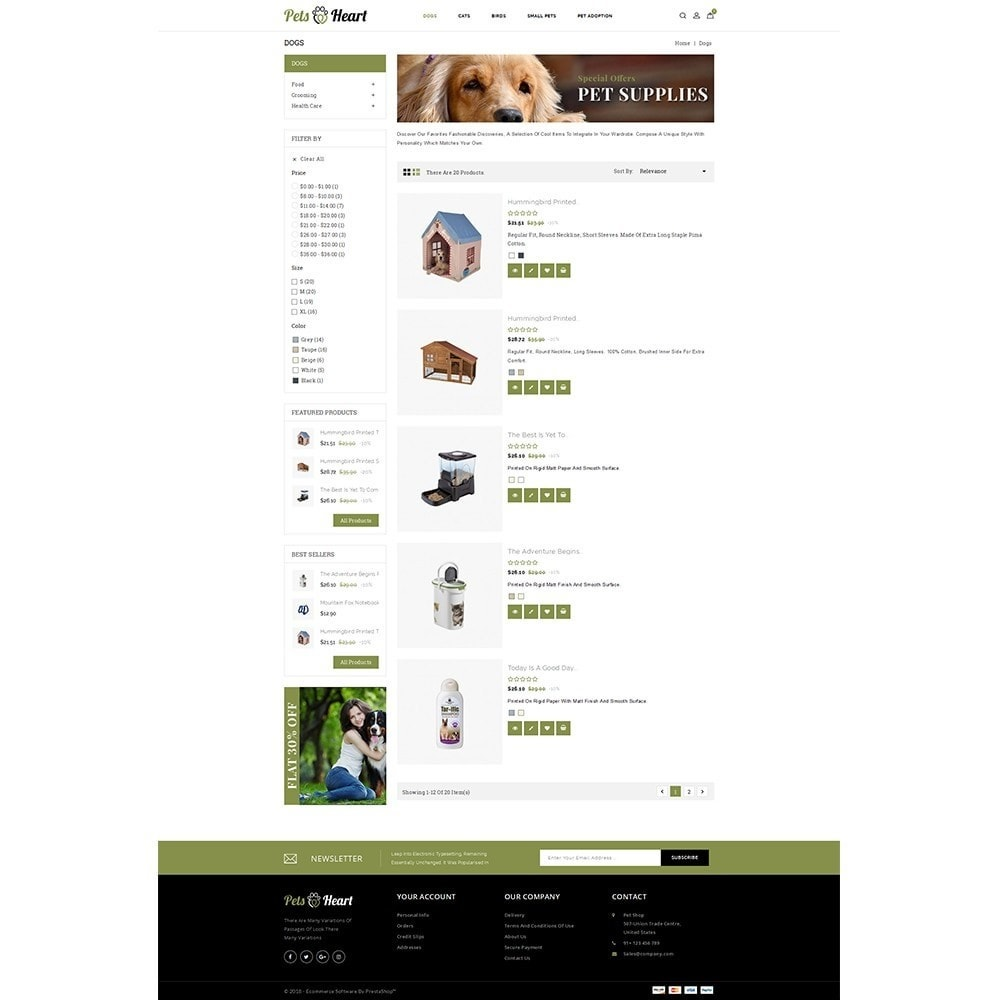 theme - Animaux - Pets Heart Store - 4