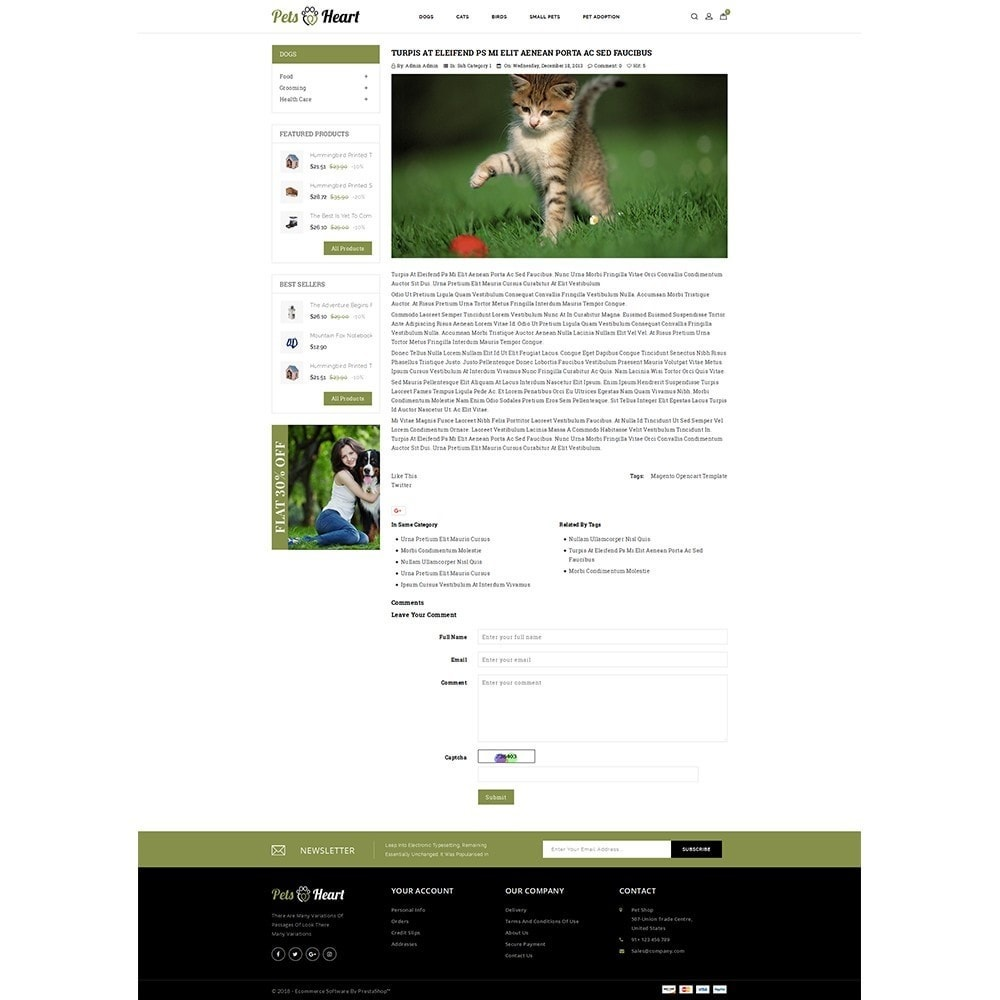 theme - Animaux - Pets Heart Store - 6