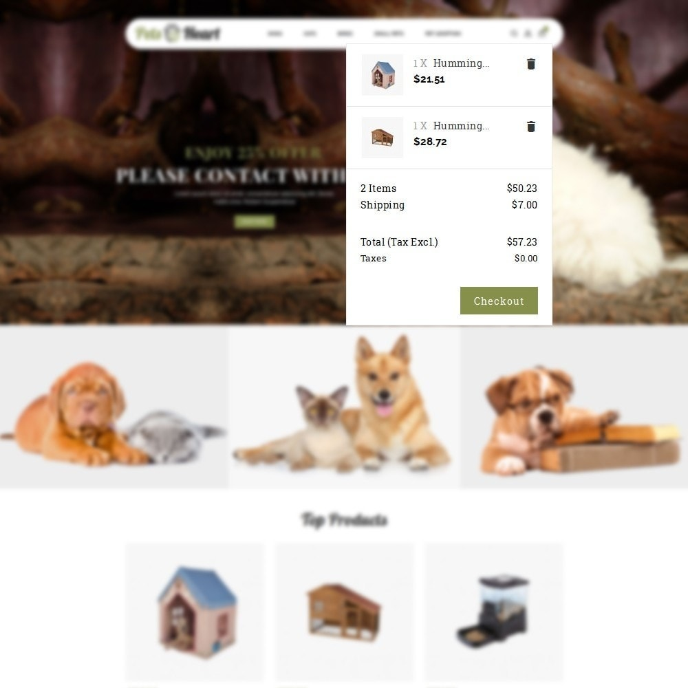 theme - Animaux - Pets Heart Store - 8