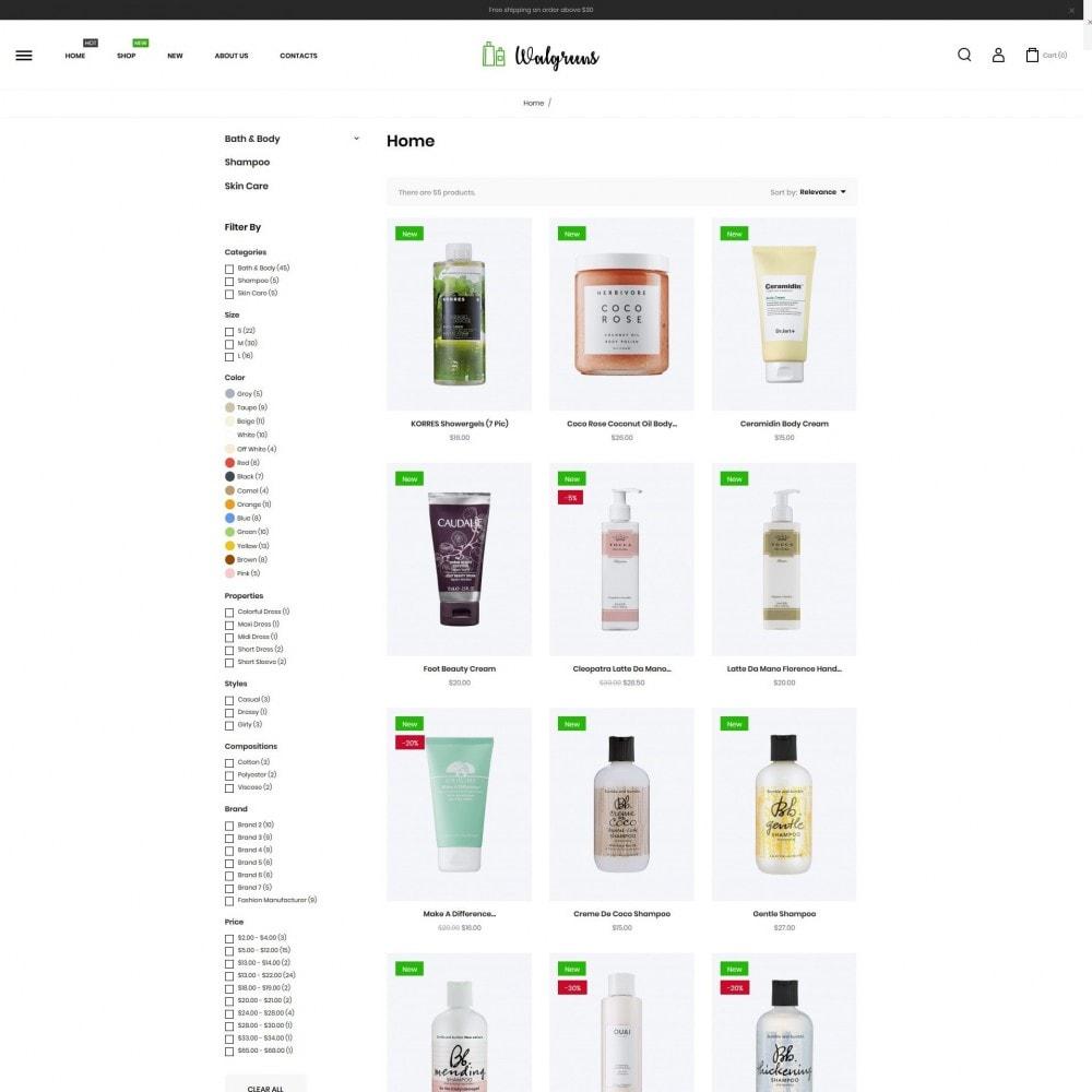 theme - Salute & Bellezza - Walgreens Cosmetics - 5