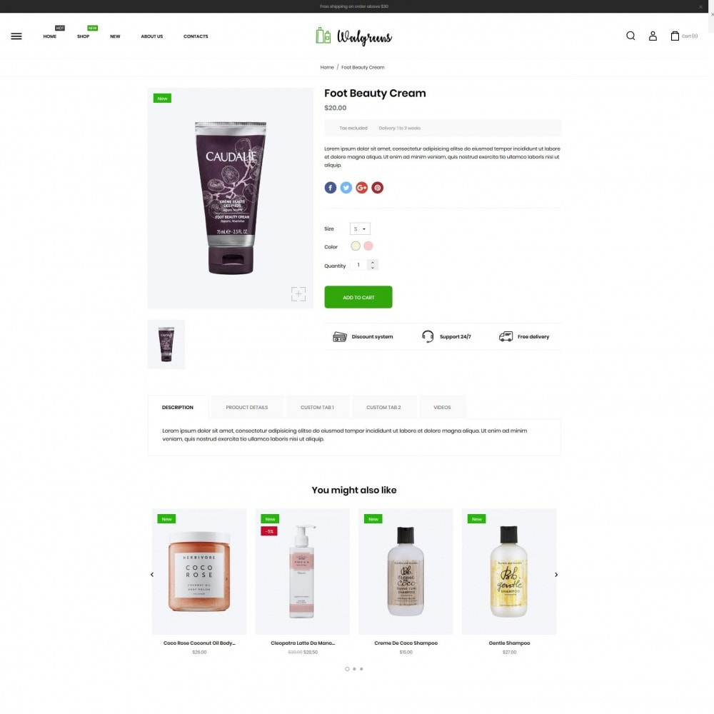 theme - Salute & Bellezza - Walgreens Cosmetics - 7