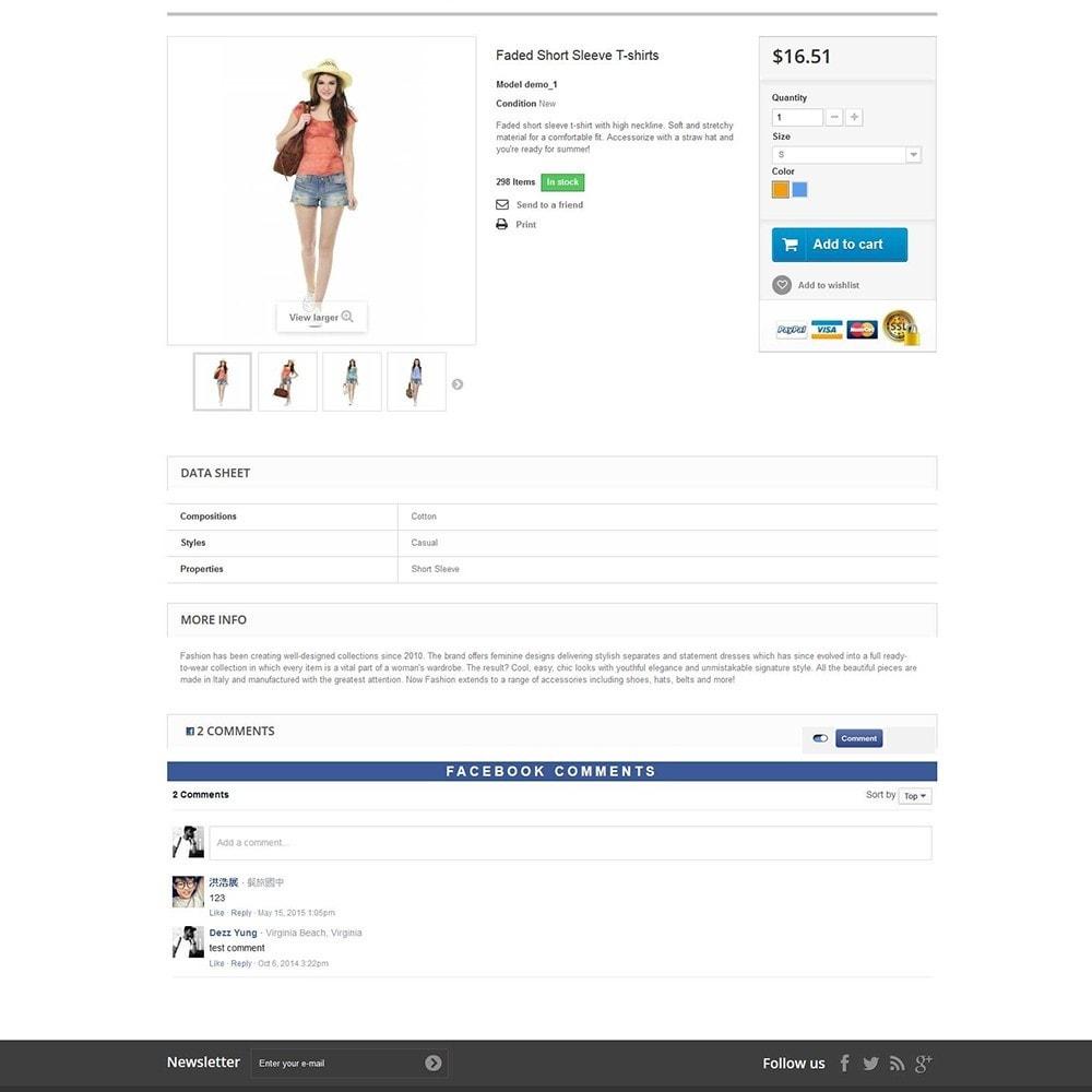 module - Opinie klientów - EU-GDPR Facebook Comment and Review - 1
