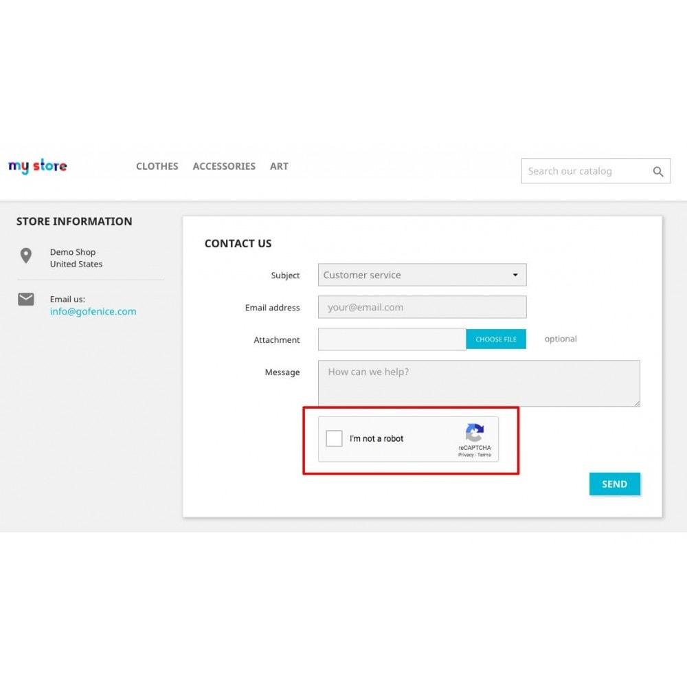 module - E-mails & Notícias - Advanced Google reCAPTCHA + Spam Email Domain Blocker - 3