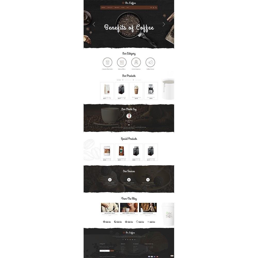 theme - Drink & Wine - MrCoffee Store - 2