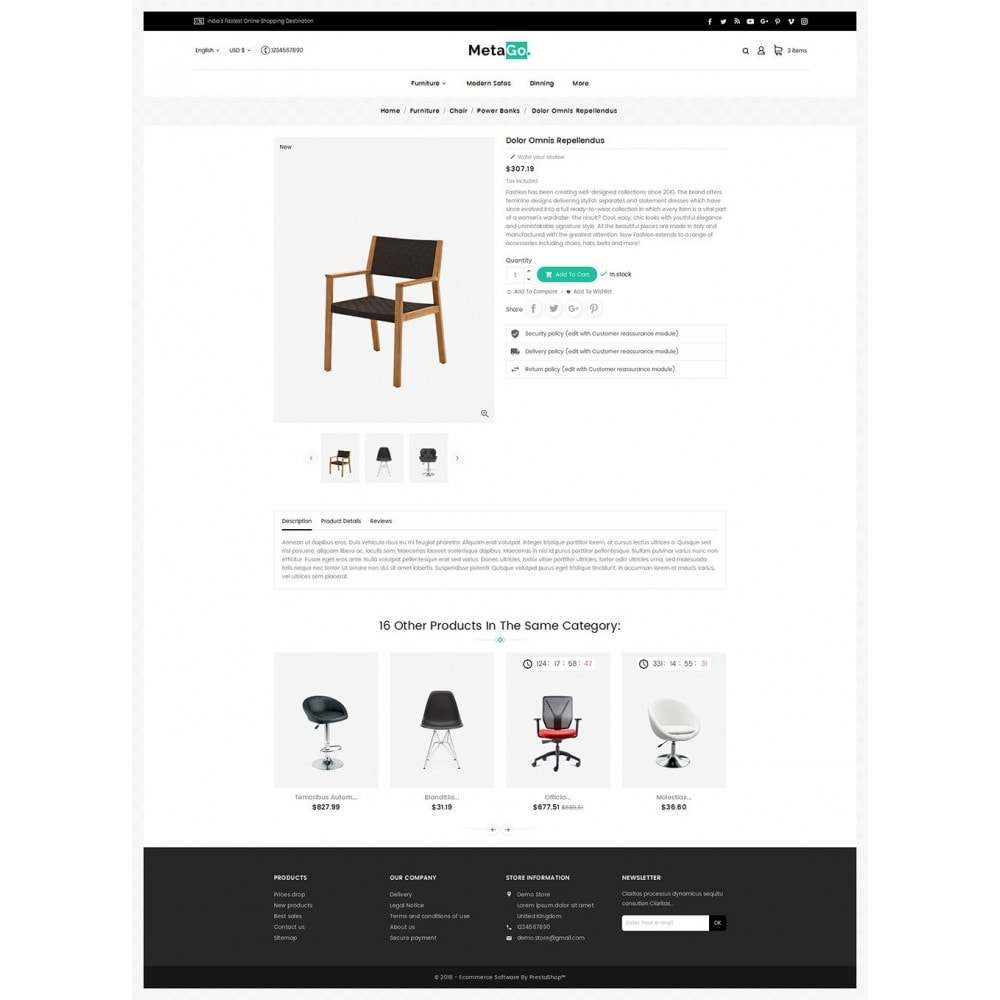 theme - Maison & Jardin - Melano Furniture Crafts - 6