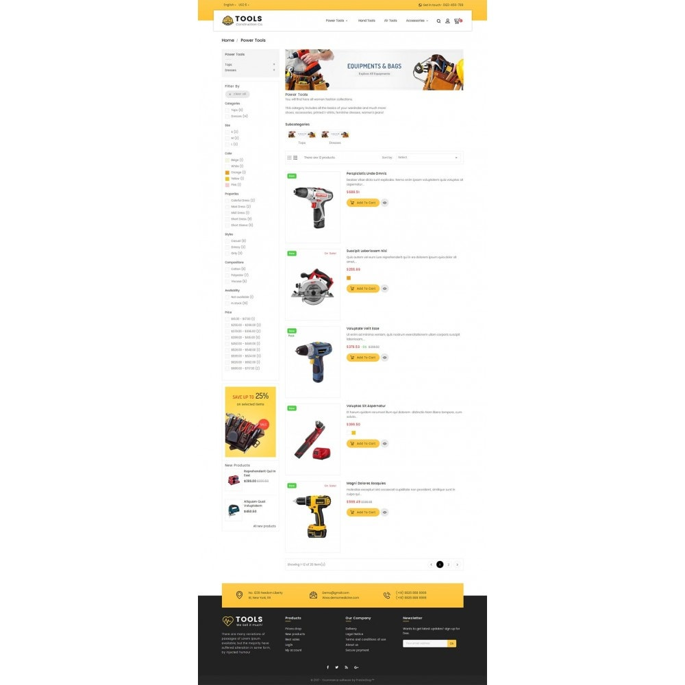 theme - Hogar y Jardín - Construction Tools Store - 5