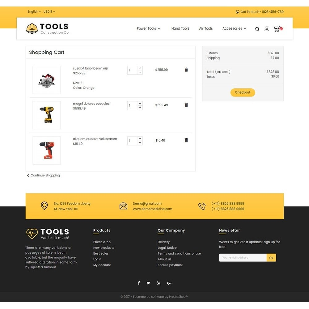 theme - Casa & Giardino - Construction Tools Store - 7