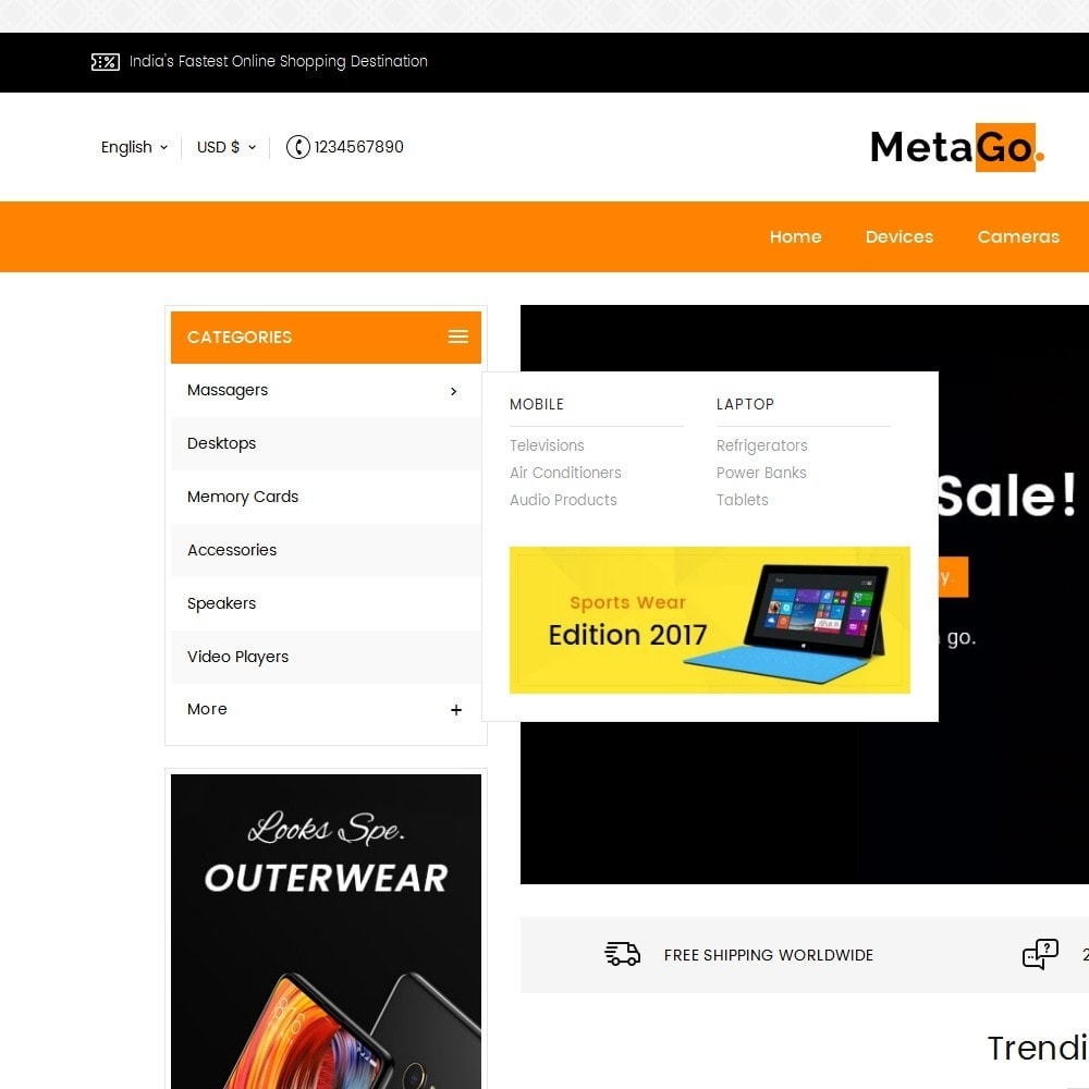 theme - Electrónica e High Tech - Melano Electronics Market - 9