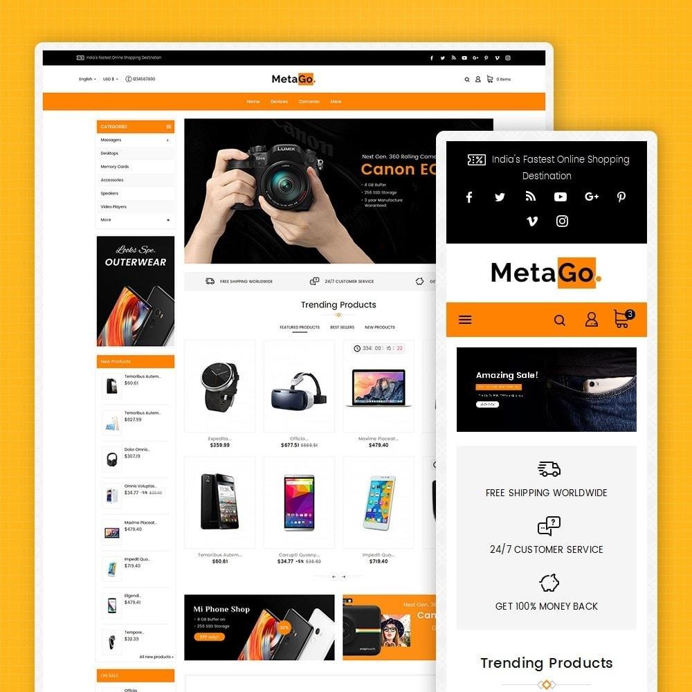 theme - Elektronik & High Tech - Melano Electronics Market - 2