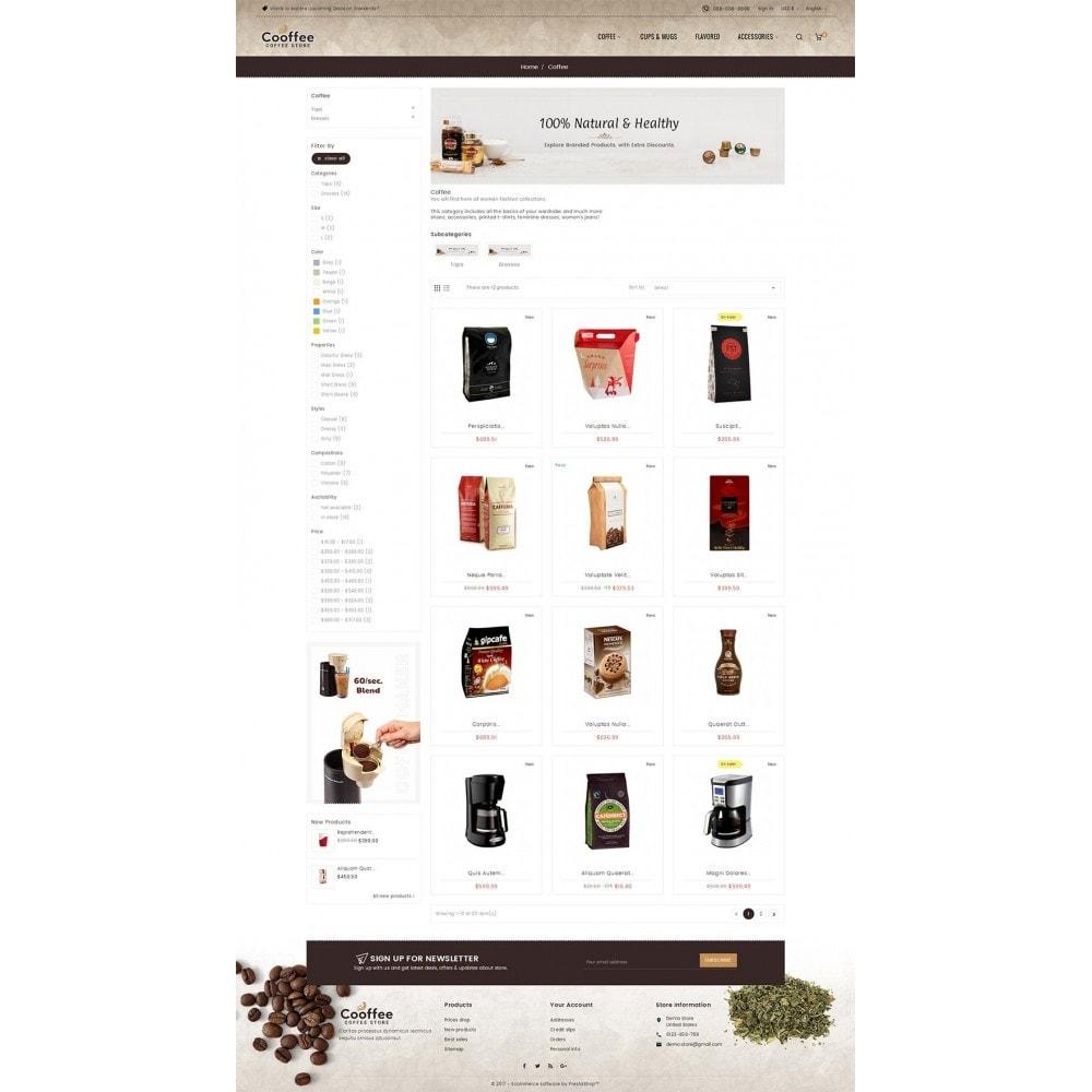 theme - Bebidas y Tabaco - Cold Coffee Store - 4
