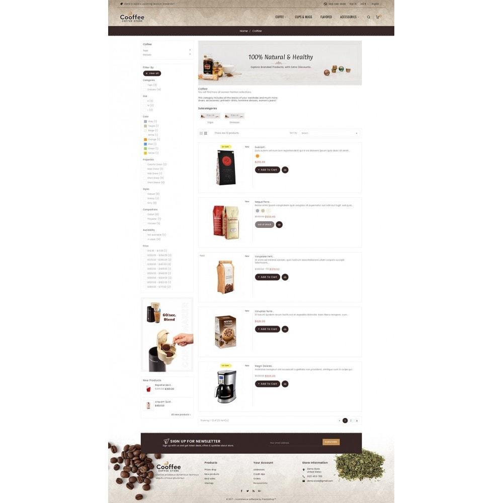 theme - Bebidas y Tabaco - Cold Coffee Store - 5
