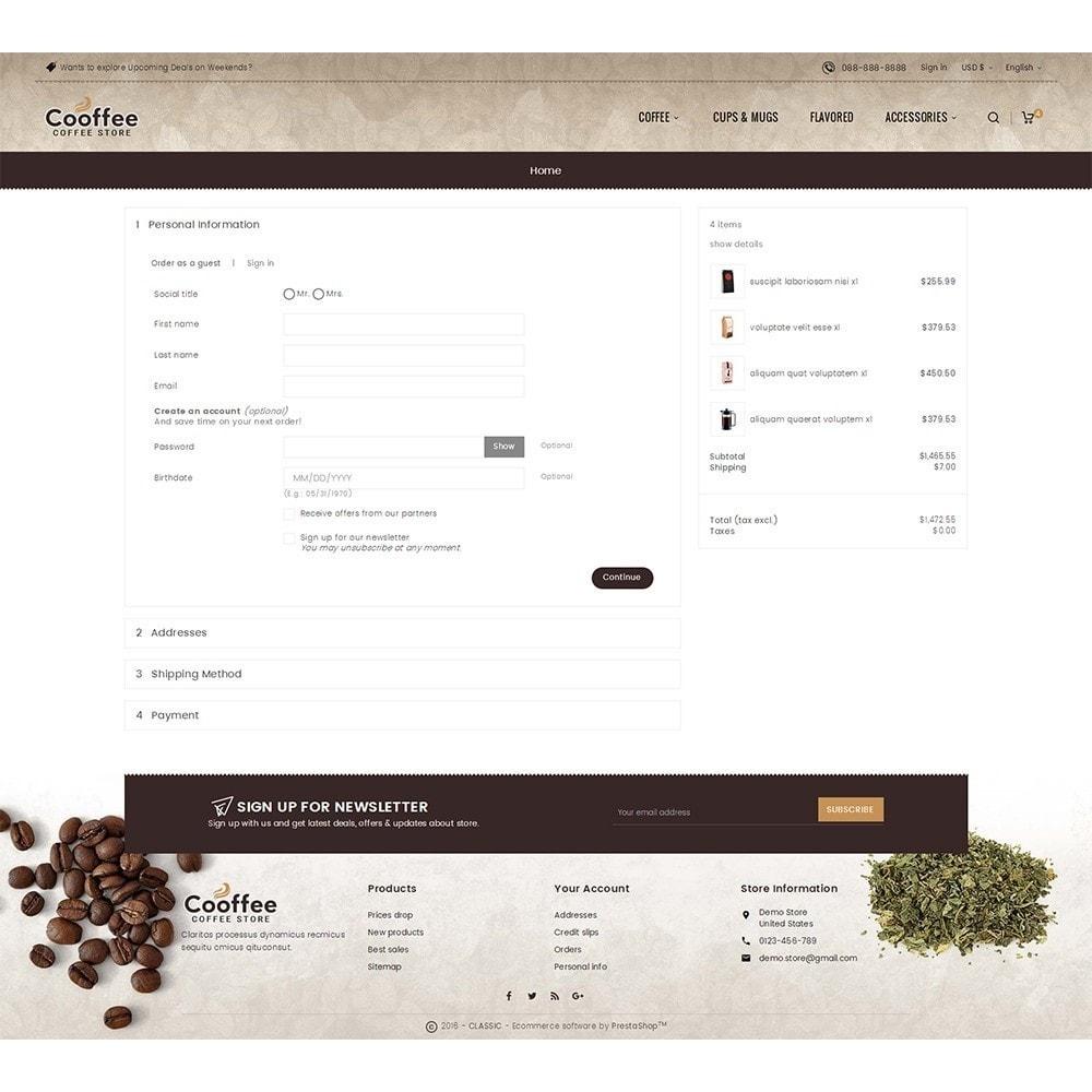 theme - Bebidas y Tabaco - Cold Coffee Store - 8