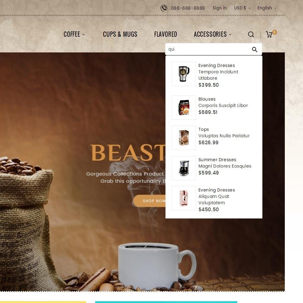 theme - Bebidas y Tabaco - Cold Coffee Store - 11