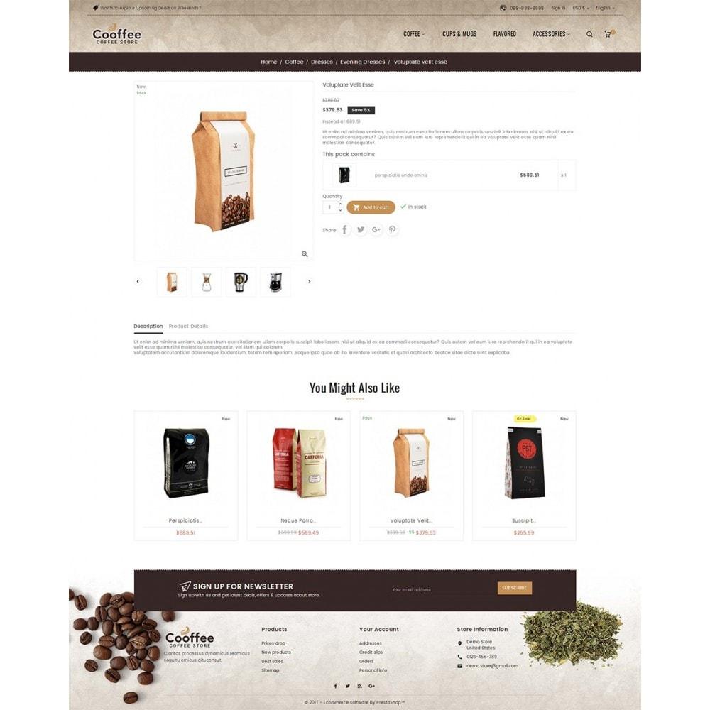 theme - Drink & Wine - Cold Coffee Store - 6