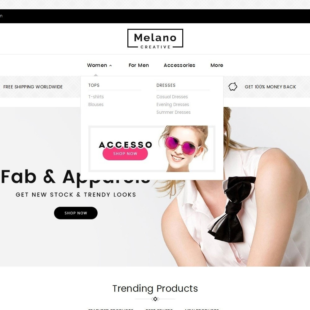 theme - Mode & Schuhe - Melano Creative Fashion - 9