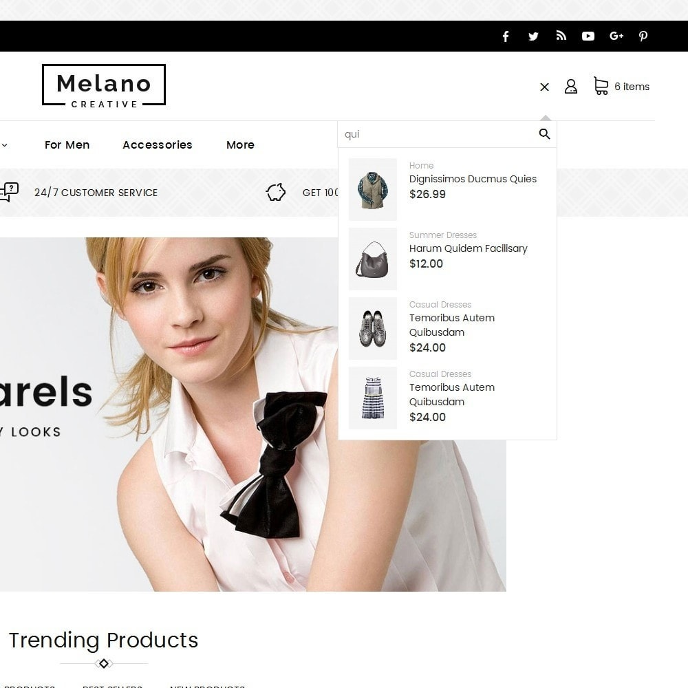 theme - Mode & Schuhe - Melano Creative Fashion - 10