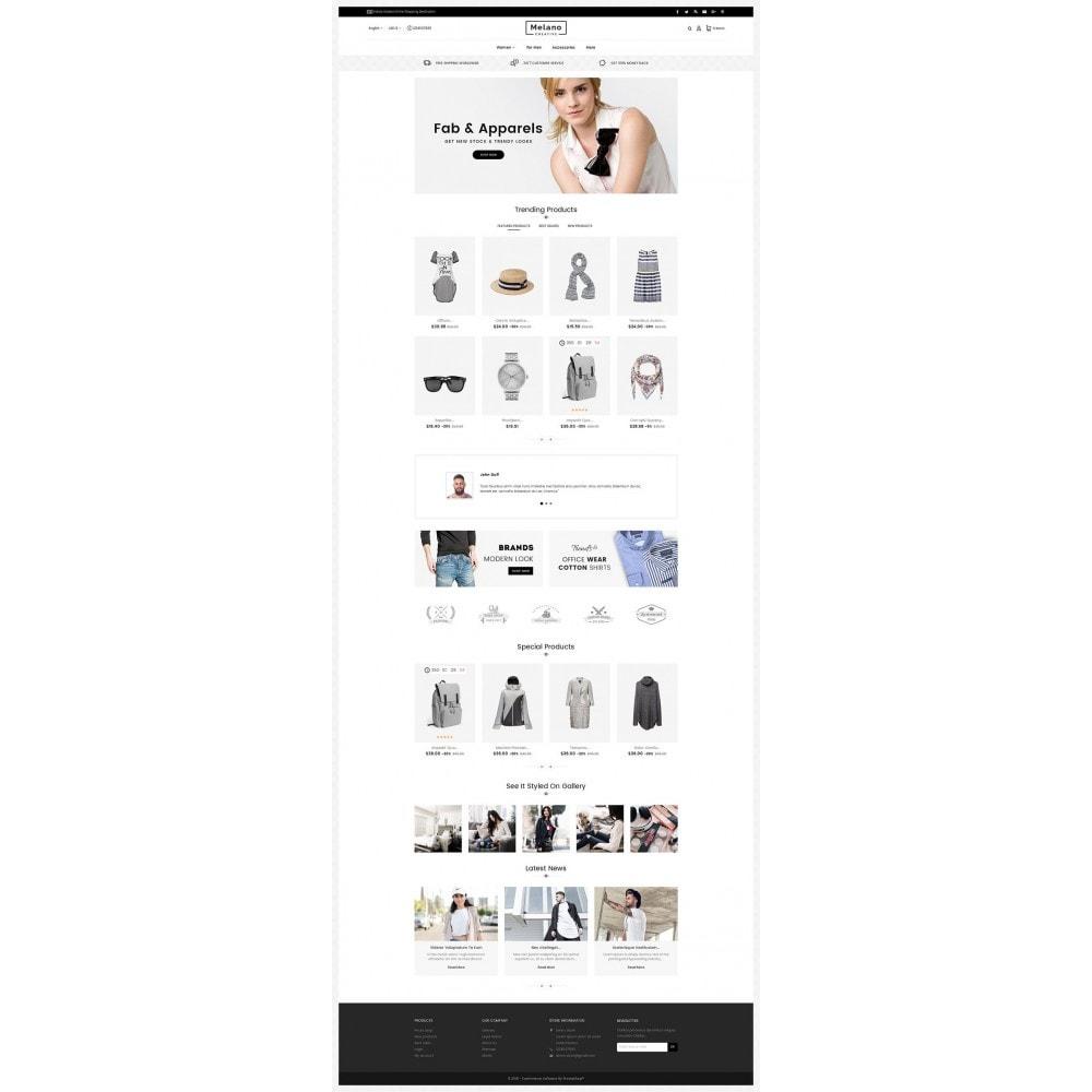 theme - Moda & Calzature - Melano Creative Fashion - 3