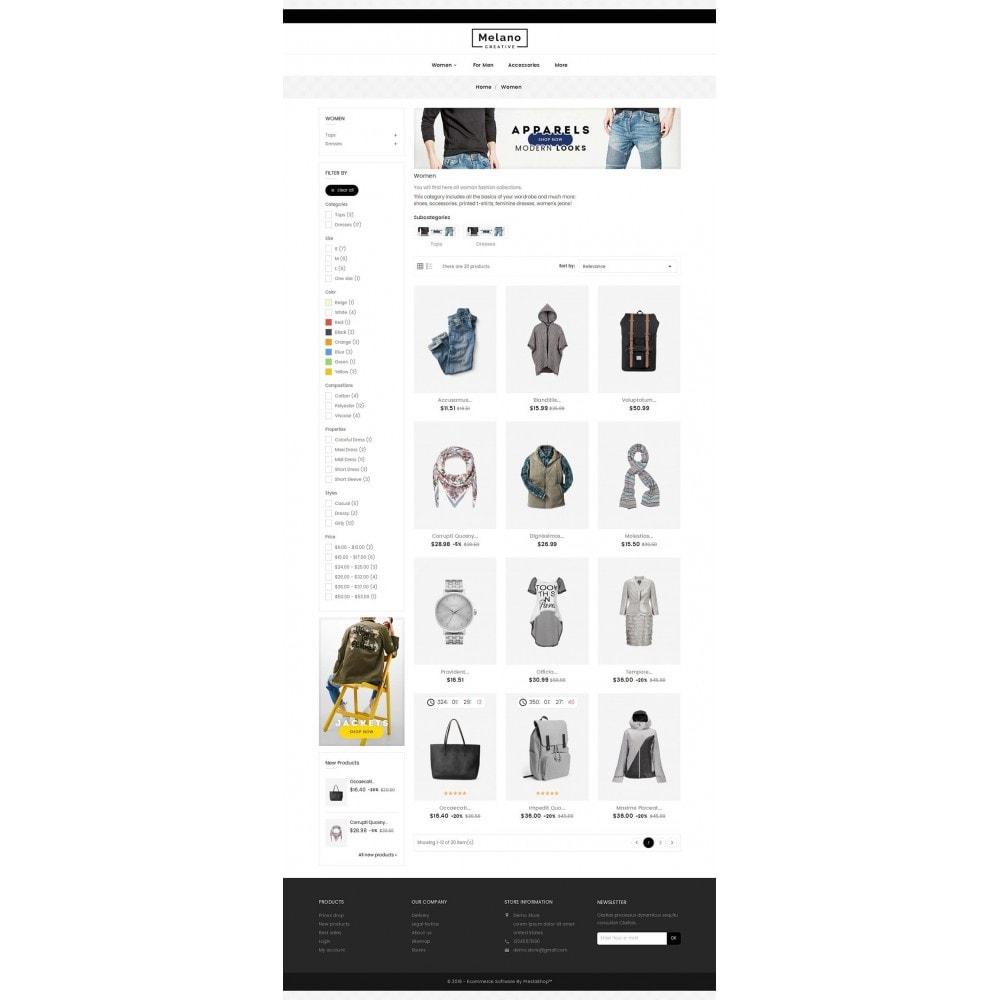theme - Moda & Calzature - Melano Creative Fashion - 4