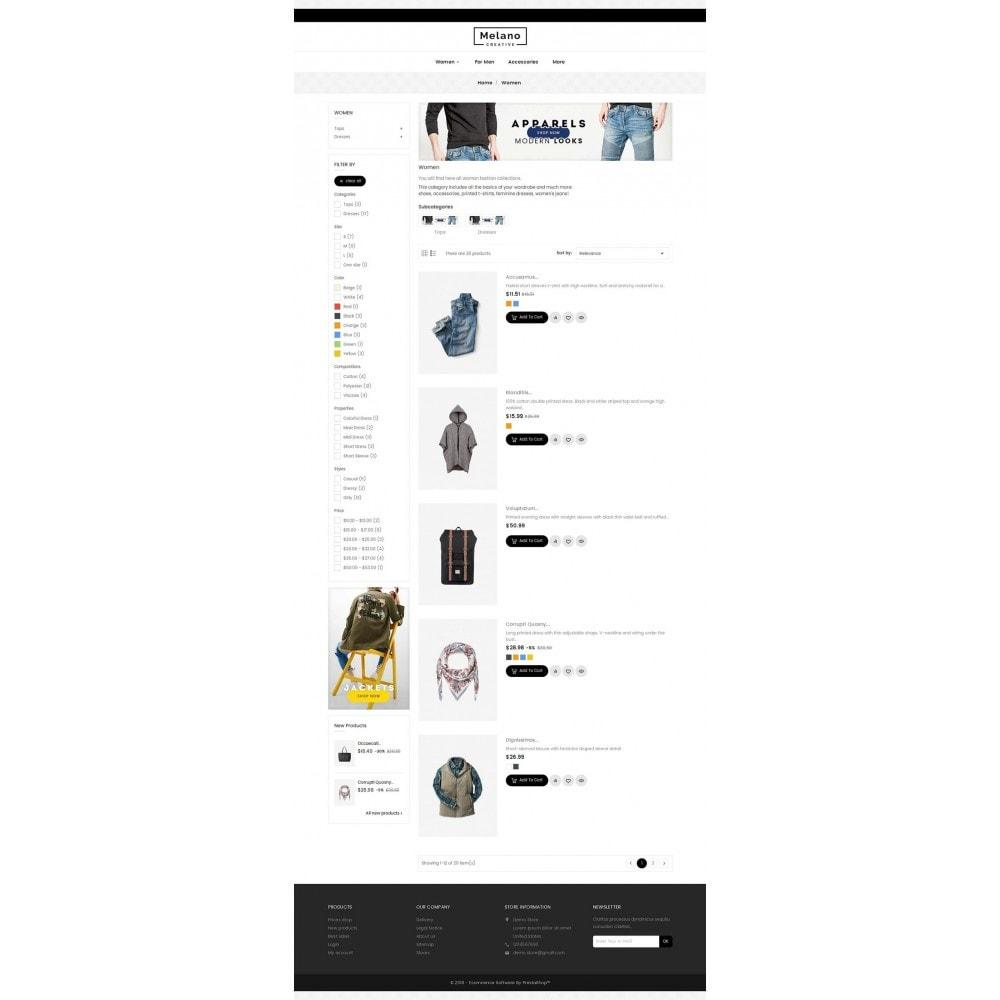 theme - Moda & Calzature - Melano Creative Fashion - 5
