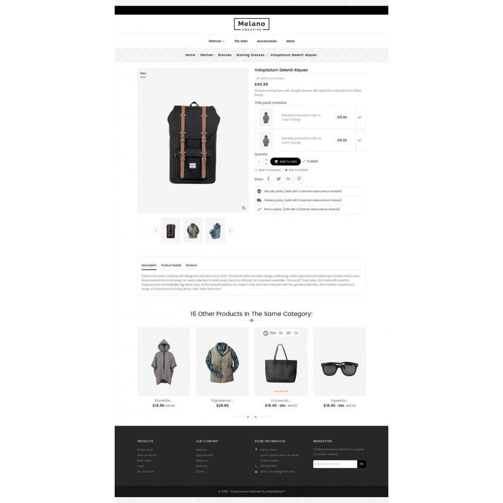 theme - Moda & Calzature - Melano Creative Fashion - 6