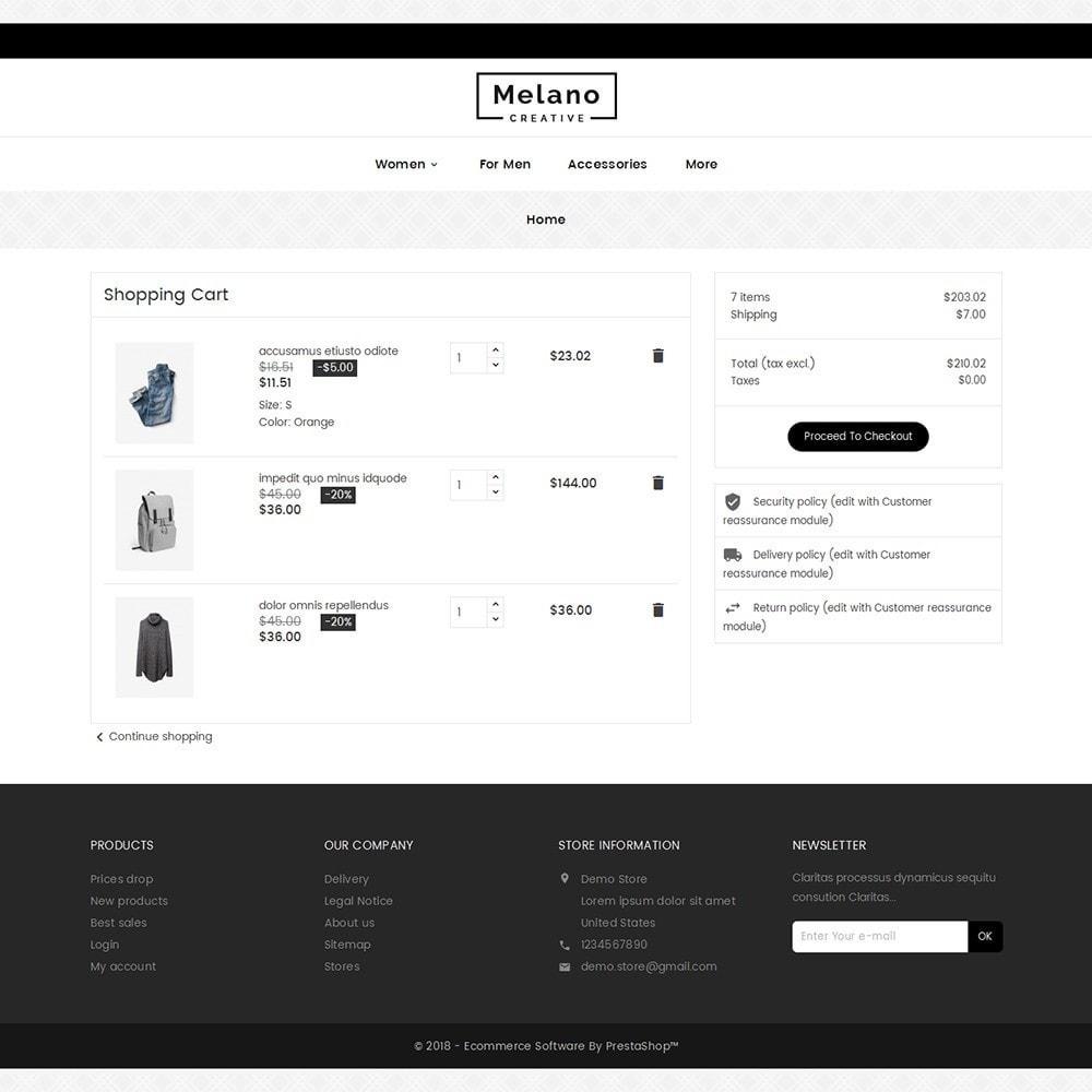 theme - Moda & Calzature - Melano Creative Fashion - 7