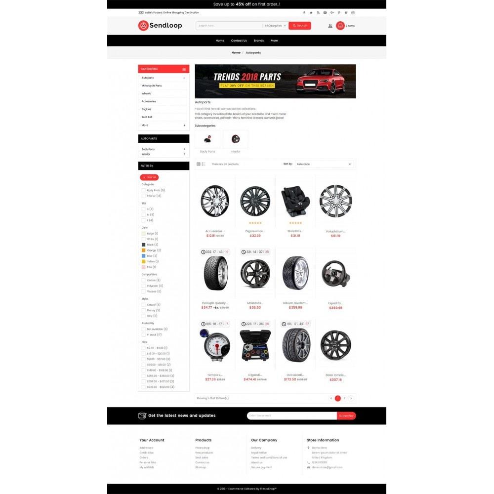 theme - Autos & Motorräder - Melano Auto Parts Loop - 4