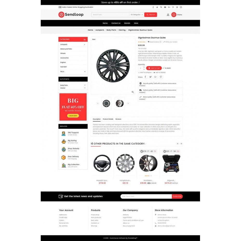 theme - Auto & Moto - Melano Auto Parts Loop - 6