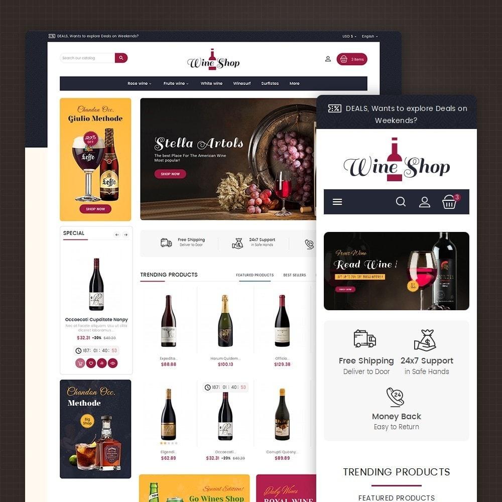 theme - Drink & Wine - Mega Wine Club - 2
