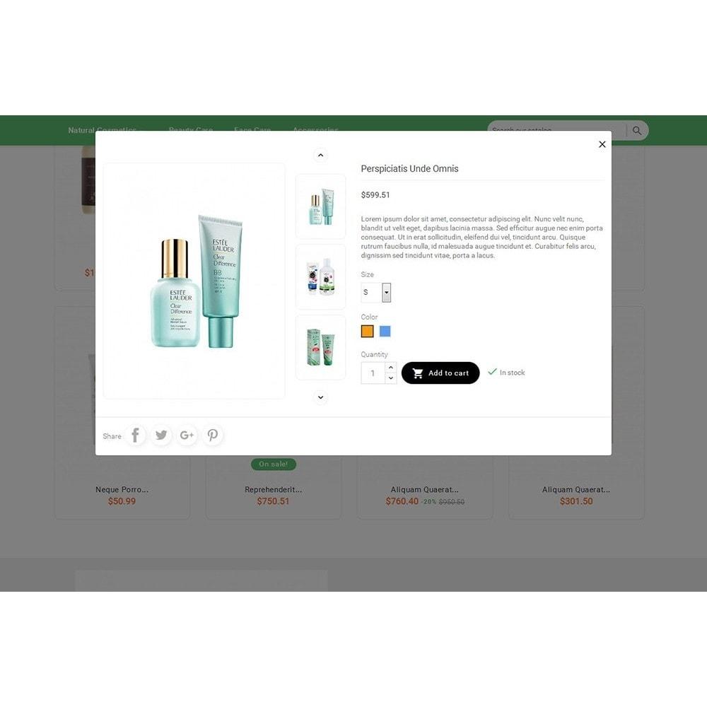 theme - Santé & Beauté - Bio Cosmetics Store - 9
