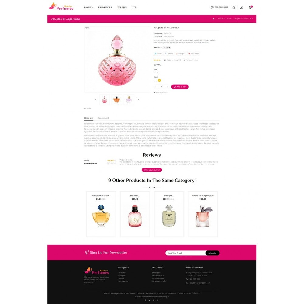 theme - Salute & Bellezza - Beauty Perfume Store - 5