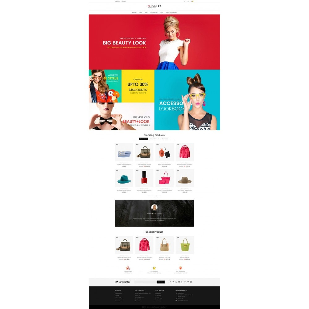 theme - Mode & Chaussures - BePretty Fashion Store - 3