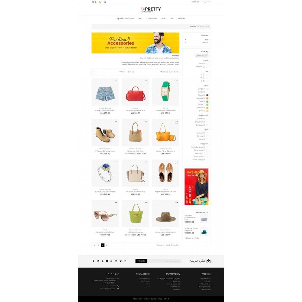 theme - Moda y Calzado - BePretty Fashion Store - 13