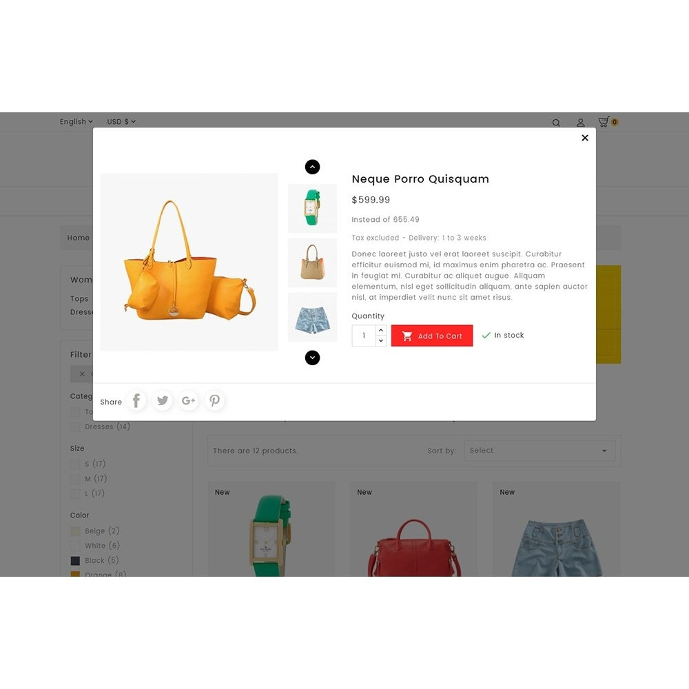 theme - Moda & Calzature - BePretty Fashion Store - 9