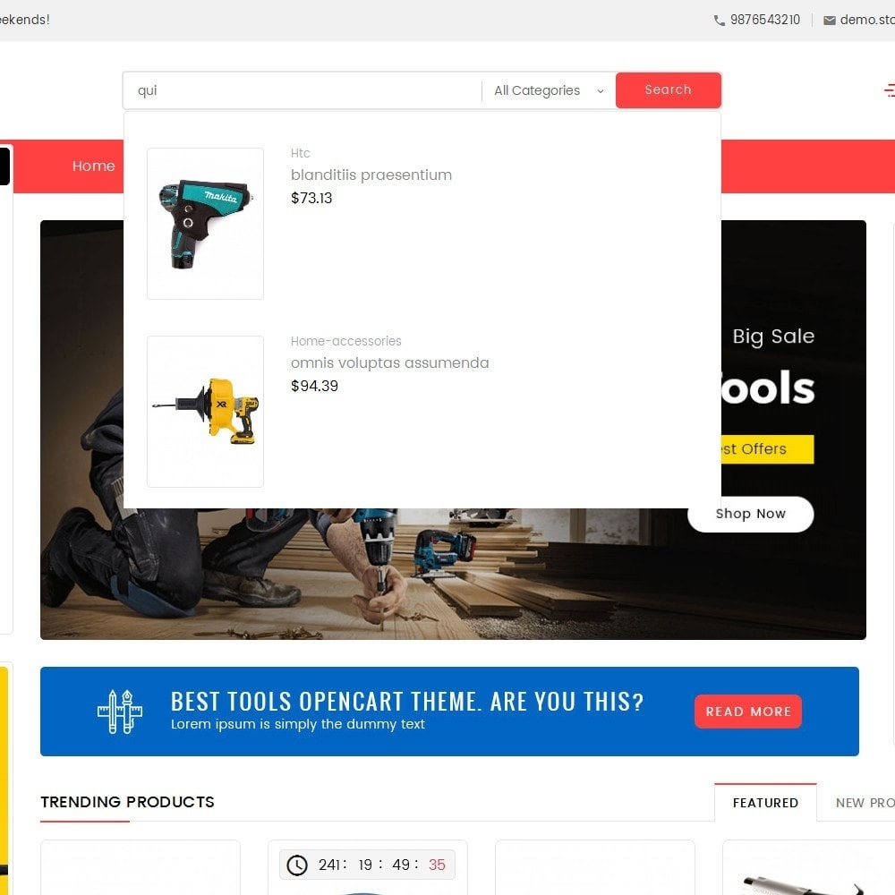 theme - Elettronica & High Tech - Mega Power Tools Store - 10