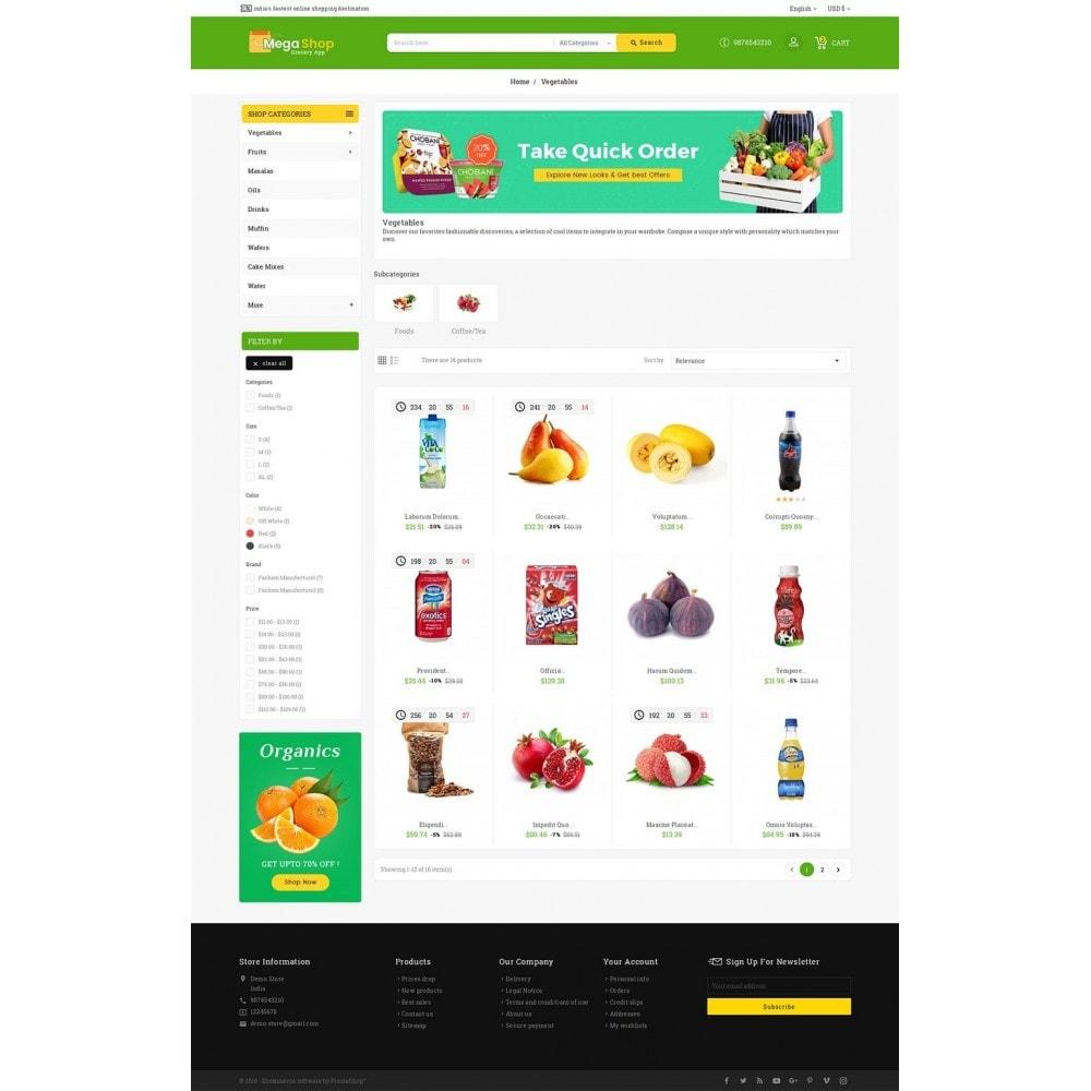 theme - Gastronomía y Restauración - Mega Grocery Shop - 4
