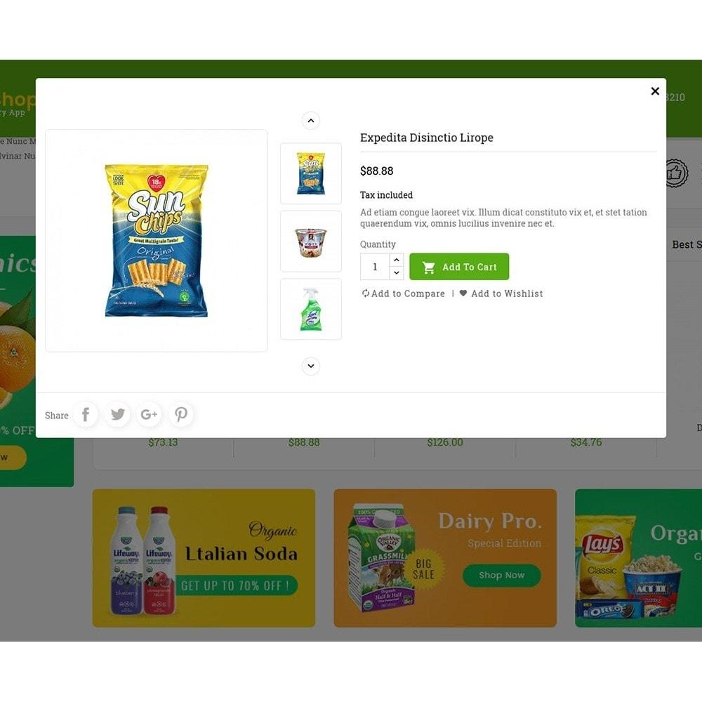 theme - Lebensmittel & Restaurants - Mega Grocery Shop - 8