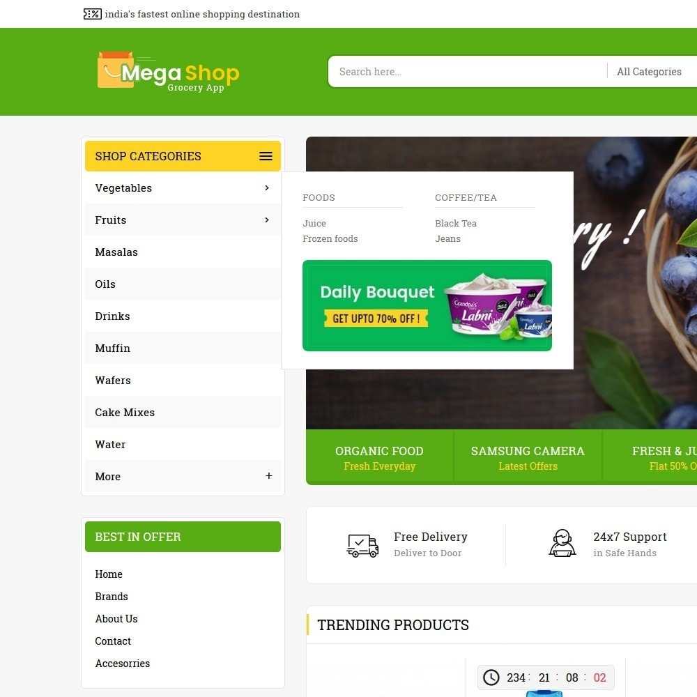 theme - Lebensmittel & Restaurants - Mega Grocery Shop - 9